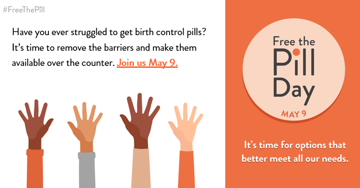 Save the date for May 9, Free the Pill Day